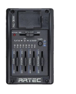 Artec 4-Band Eq With Chromatic Tuner