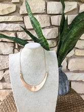 Brass Statement Necklace