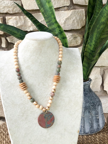 Boho Stone Necklace
