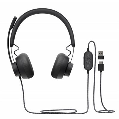 Zone Wired USB Headset UC Cert