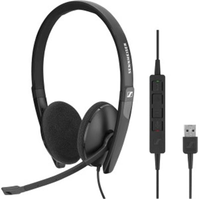 Both Sided USB headset w inlne