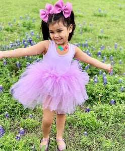 Ready to Ship Pastel Purple Tutu w/ Snaps (no rainbow customization)