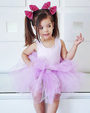 Carregar imagem no visualizador da galeria, Ready to Ship Pastel Purple Tutu w/ Snaps (no rainbow customization)