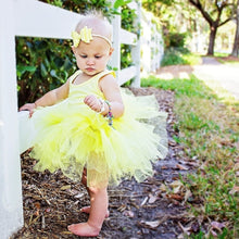 Carregar imagem no visualizador da galeria, Ready to Ship Pastel Yellow Tutu w/ Snaps
