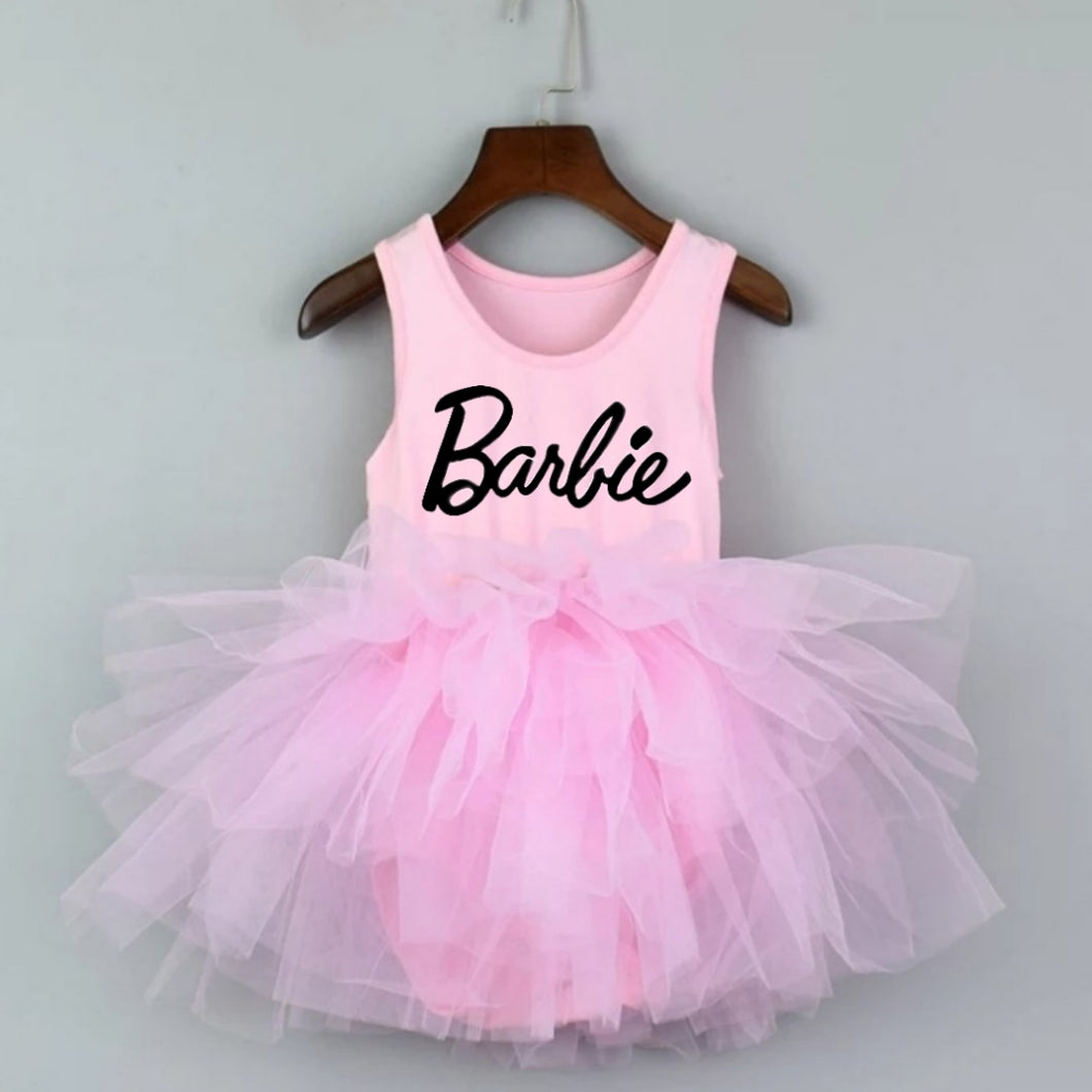 Ready to Ship Pink Barbie Tutu w/ Snaps