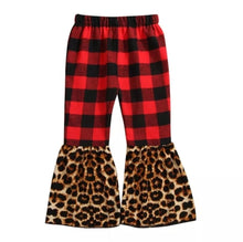 Load image into Gallery viewer, Ready to Ship Plaid Cheetah Bells
