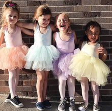 Load image into Gallery viewer, Ready to Ship Pastel Aqua Blue Tutu w/ Snaps