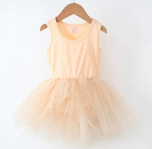 Ready to Ship Pastel Orange Tutu w/ Snaps