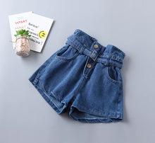 Carregar imagem no visualizador da galeria, Ready to Ship High Waisted Jean Shorts