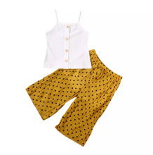 Load image into Gallery viewer, Polka Dot Trouser Set