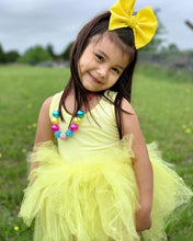 Load image into Gallery viewer, Ready to Ship Pastel Yellow Tutu w/ Snaps
