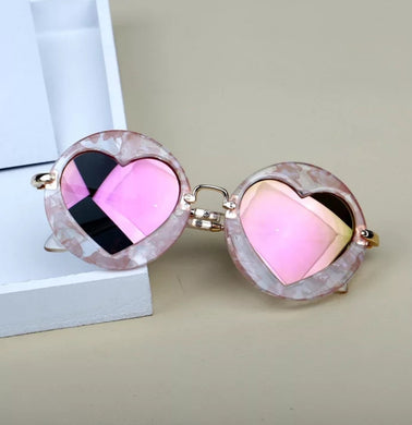 Ready to Ship Round Heart Sunnies