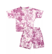 Load image into Gallery viewer, Ready to Ship Purple Tie Dye Set