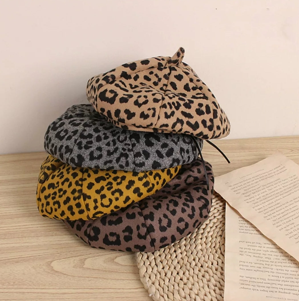 Ready to Ship Leopard Barets