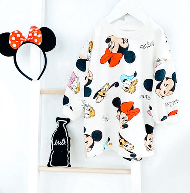 Ready to Ship Mickey Sweater/Tshirt Dresses
