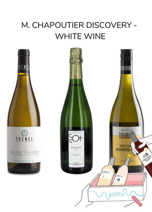 M. Chapoutier discovery - White wine