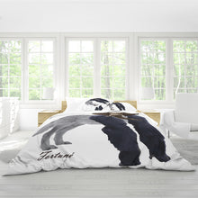 "Load image into Gallery viewer, Exhibit ""A"" - Queen Duvet Cover Set"