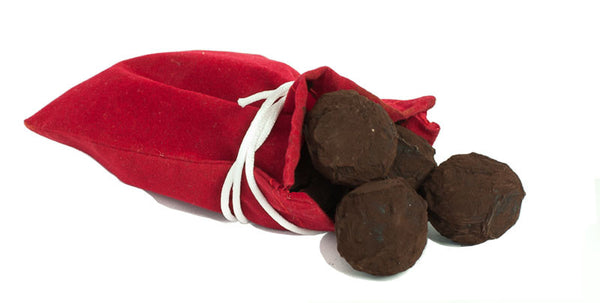 Holiday Collection: Bag of Coal Ultra Dark Chocolate Truffles