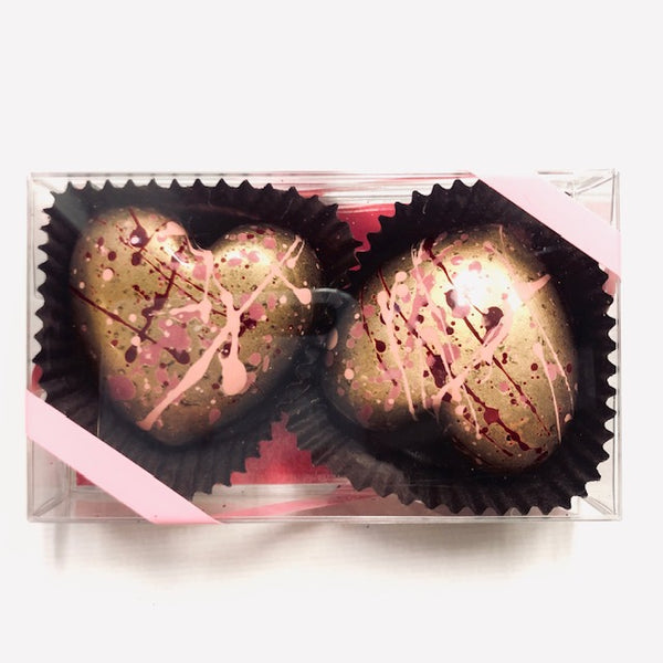 Valentine's Day Collection: Coconut Caramel Hearts