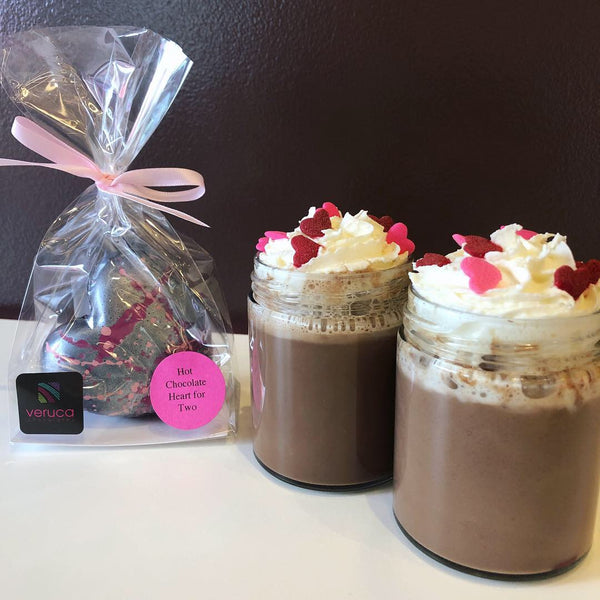 Valentine's Collection: Hot Chocolate Heart for Two