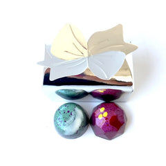 Luxury Chocolates: 2 piece assorted favor box