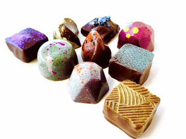 Luxury Chocolates: 4 piece Assortment