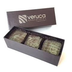 Veruca Dark Chocolate Signature Turtles 3 piece box