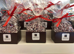 Holiday Collection: Dark Chocolate Peppermint Mendiants
