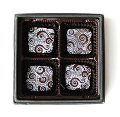 Sea Salt Caramels 4 piece box