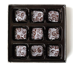 Sea Salt Caramels 9 piece box