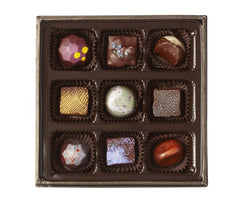 Luxury Chocolates: 9 piece Assortment