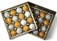 Champagne & Dark Chocolate Truffles: 32 piece gift box