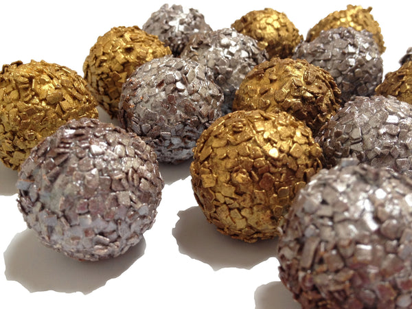 Champagne & Dark Chocolate Truffles: 5 piece box