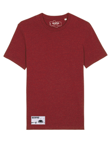T-shirt Dilested Bordeaux Chiné - DILESTED