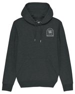 Hoodie Morgevnid Noir Chiné - DILESTED