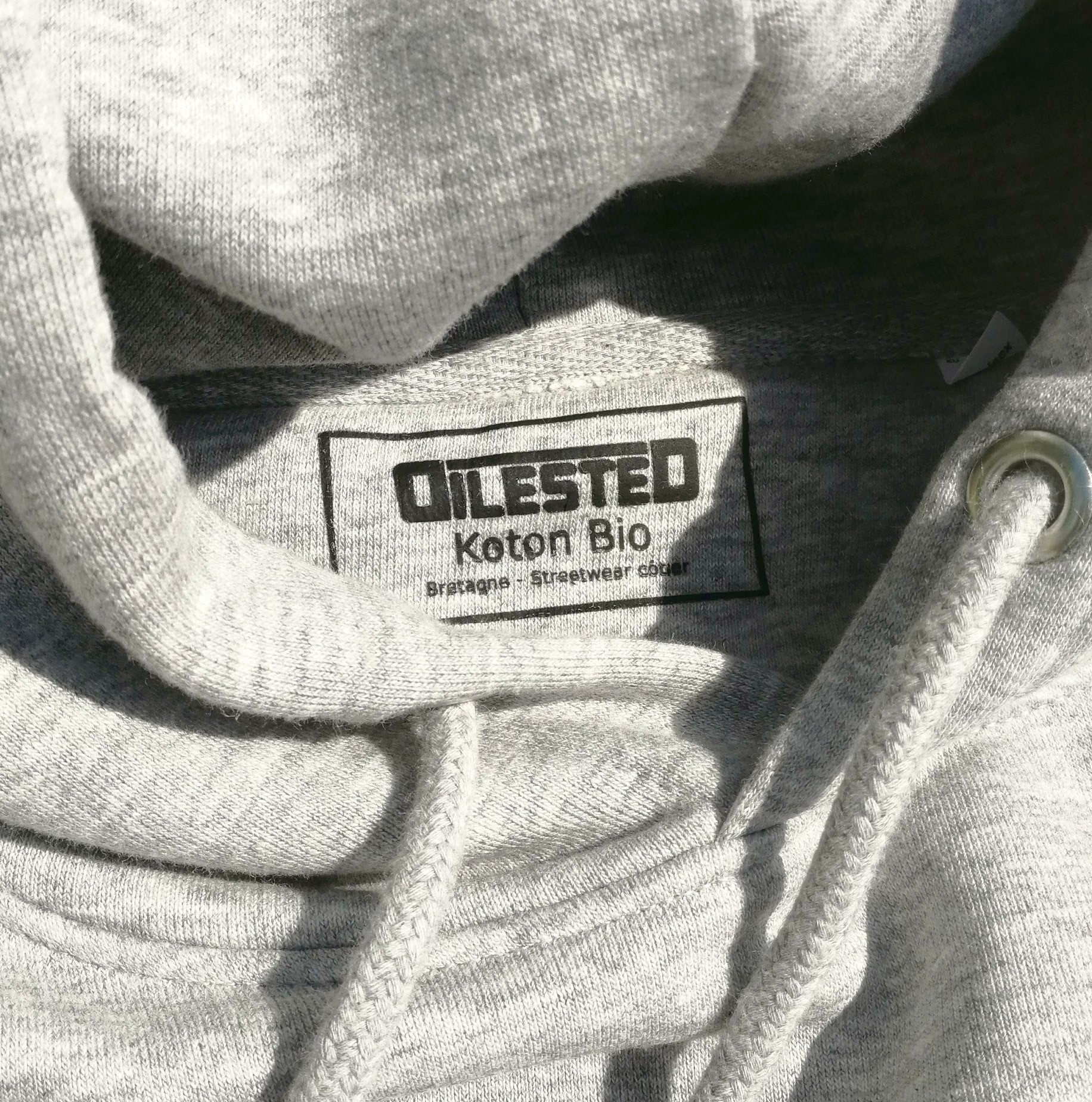 Hoodie Dolmen Gris Granit - DILESTED