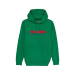 Hoodie Sunset Brodé Vert Lactuca - DILESTED