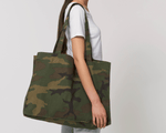 Sac Cabas 100% Recyclé Camo - DILESTED