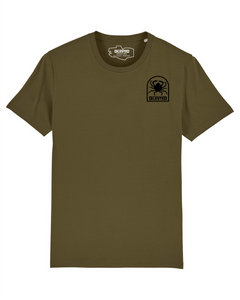 T-shirt Morgevnid Khaki - DILESTED