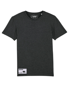T-shirt Dilested Noir Chiné - DILESTED