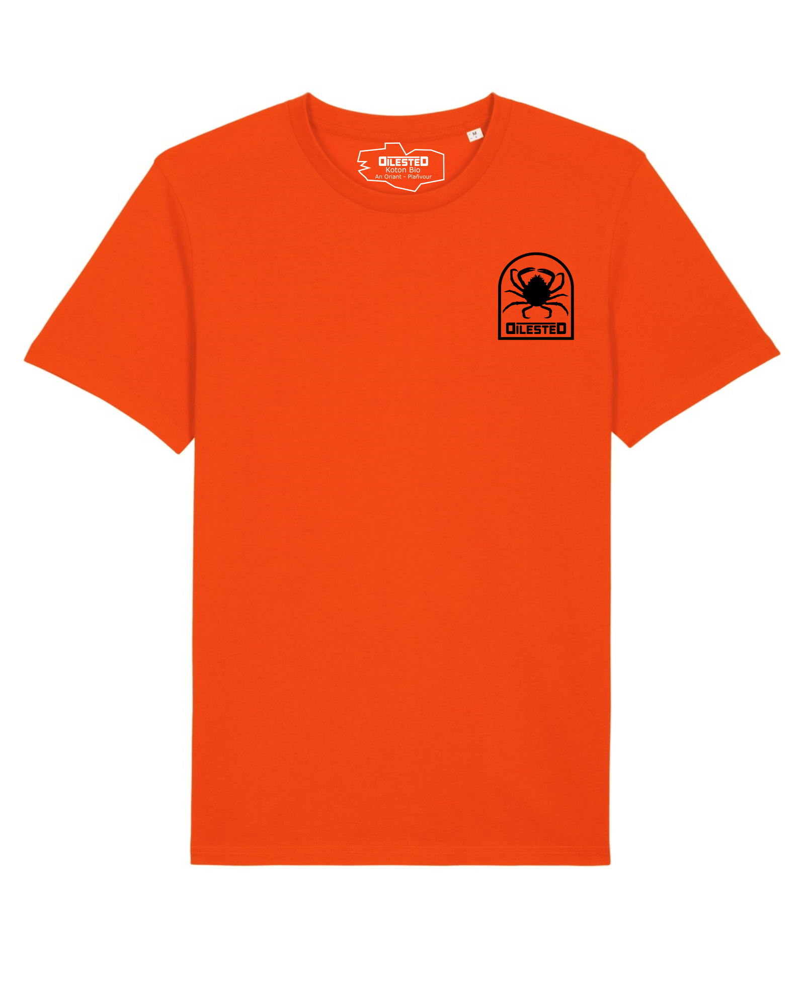 T-shirt Morgevnid Orange - DILESTED