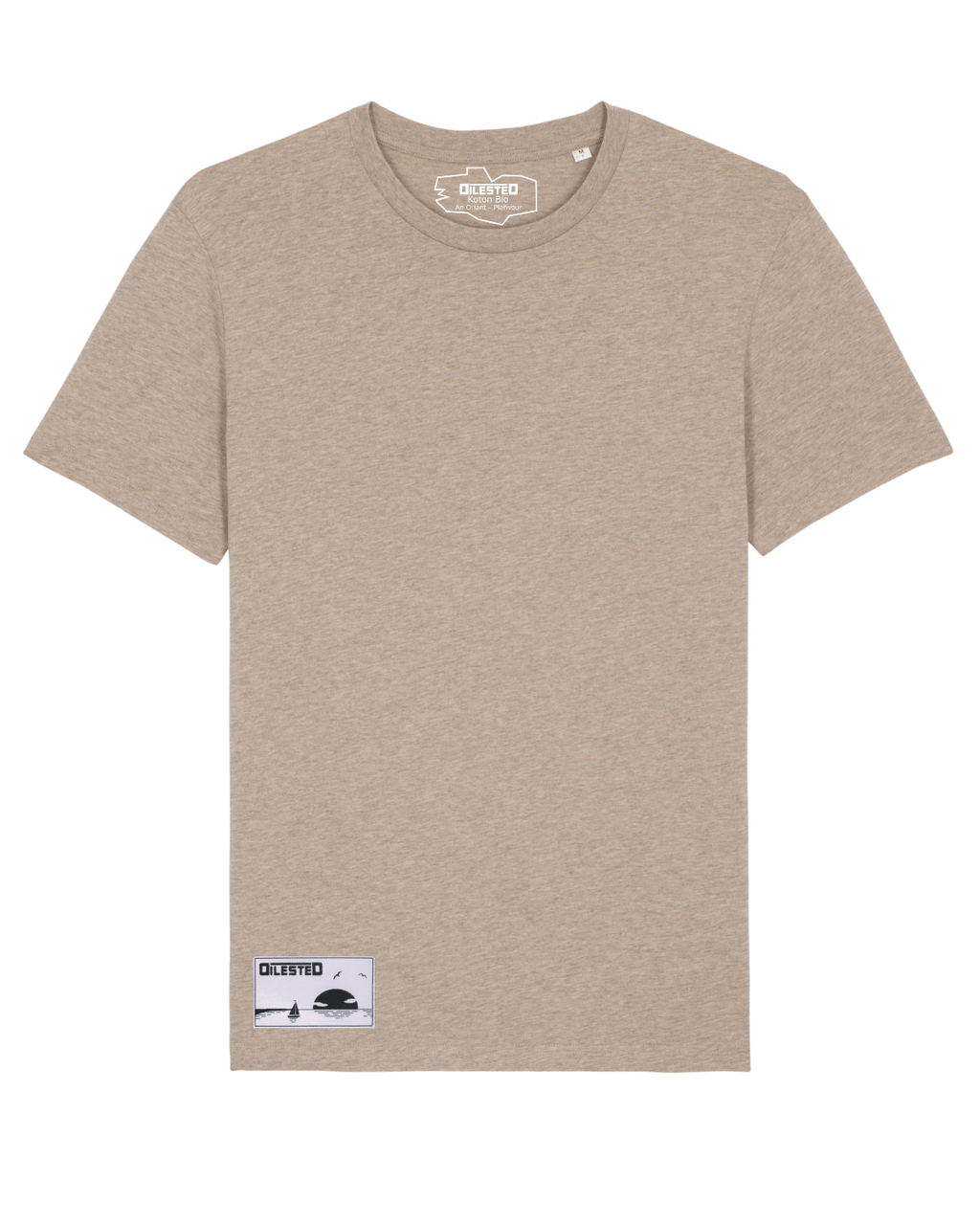 T-shirt Dilested Sable Chiné - DILESTED