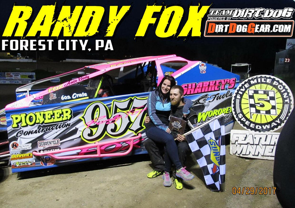 Welcome Randy Fox to Team Dirt Dog!