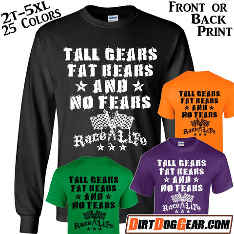 "Crate Rate® Shirt 20: ""Tall Gears & Fat Rears"""