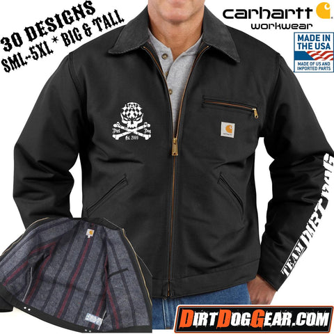 Carhartt® Blanket Lined Detroit Jacket