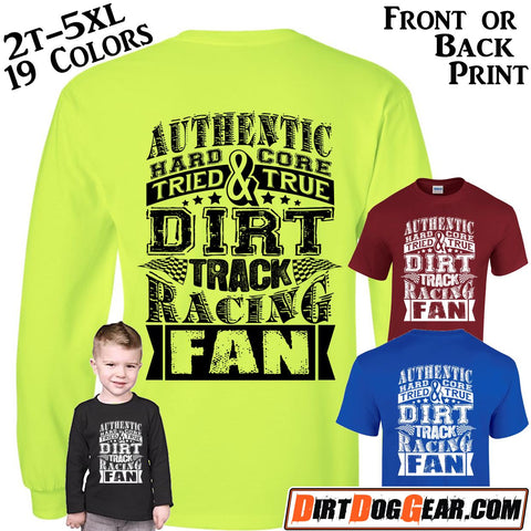 "Crate Rate® Shirt 10: ""Dirt Track Fan"""