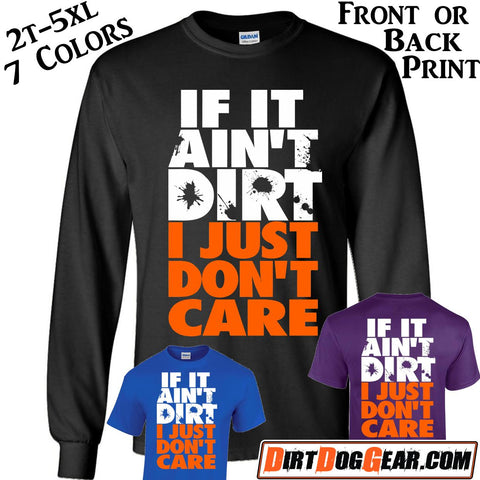 "Crate Rate® Shirt 15: ""If It Ain't Dirt"""
