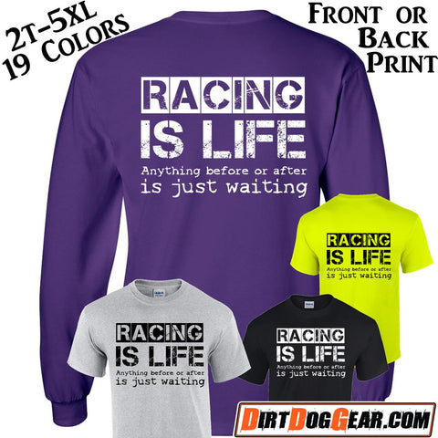 "Crate Rate® Shirt 30: ""Racing is Life"""
