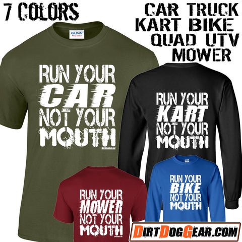 "Crate Rate® Shirt #8: ""Run Your Car"""