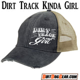 Hat 1 - Distressed Trucker Snapback